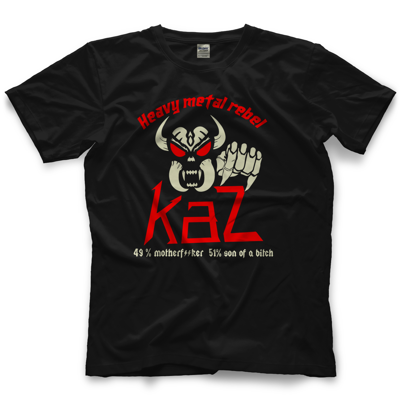 Frankie Kazarian Heavy Metal Rebel T-shirt