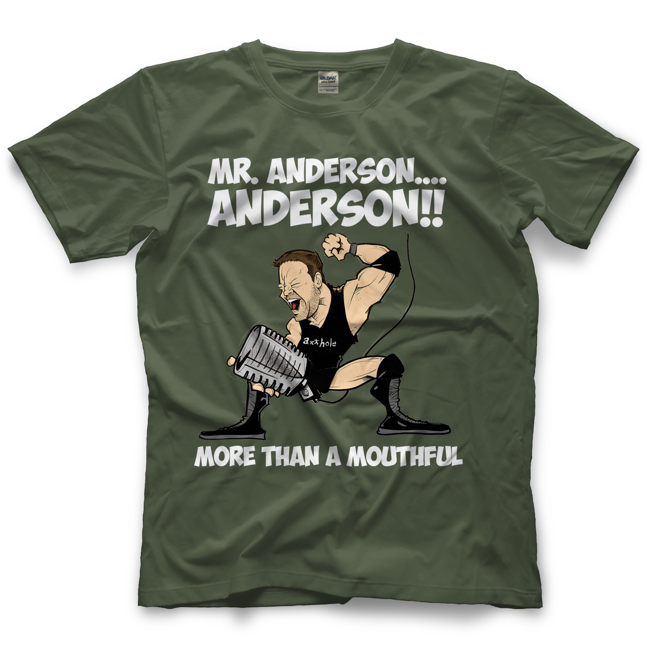 Ken Anderson Anderson Caricature T-shirt