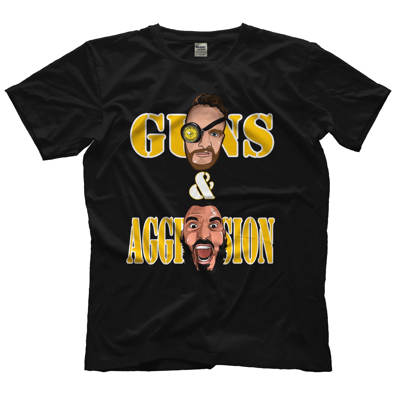 Guns and Aggression T-shirt