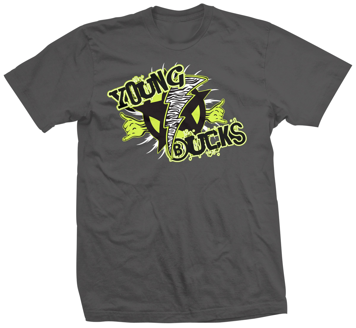 Young Bucks Neon Classic T-shirt