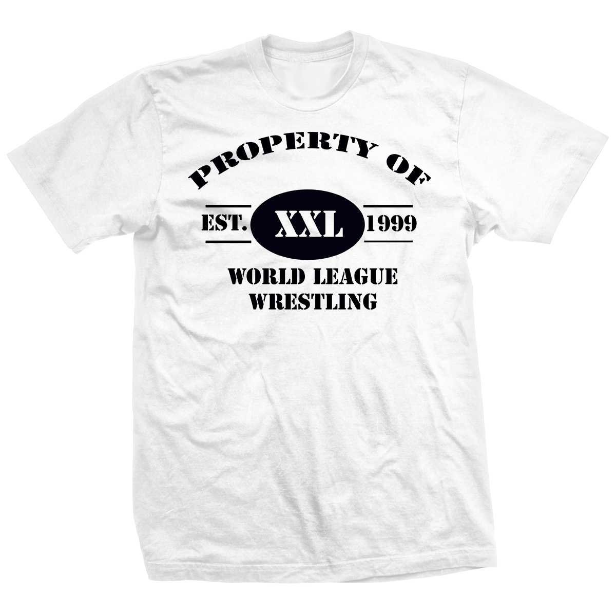 Property of World League Wrestling T-shirt
