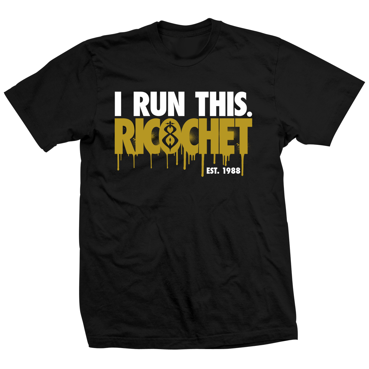 Ricochet I Run This. T-shirt