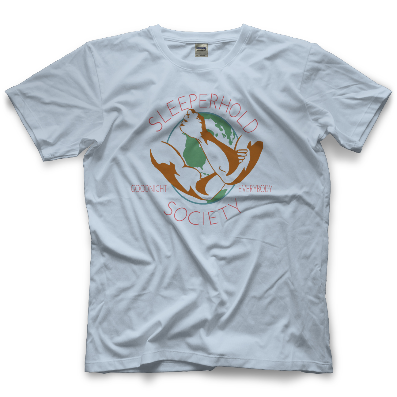 RJ City Sleeperhold Society T-shirt