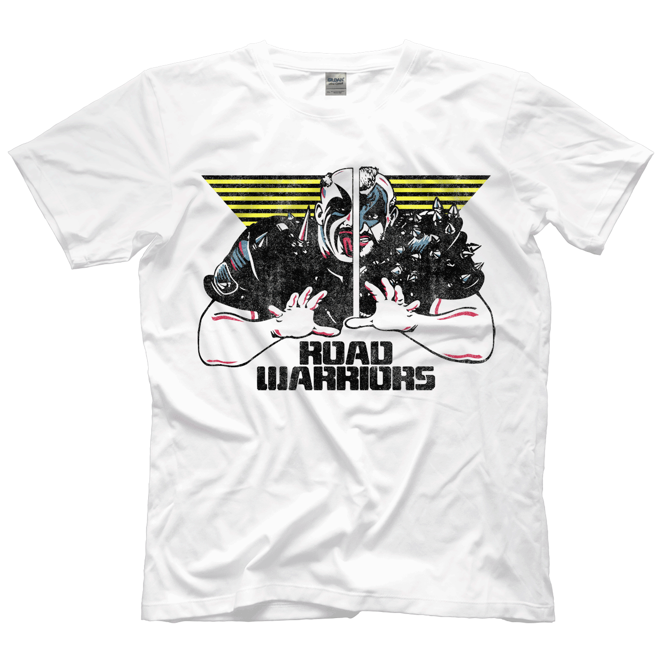 The Road Warriors T shirt; Road Warriors 1987 Champions Tee shirt