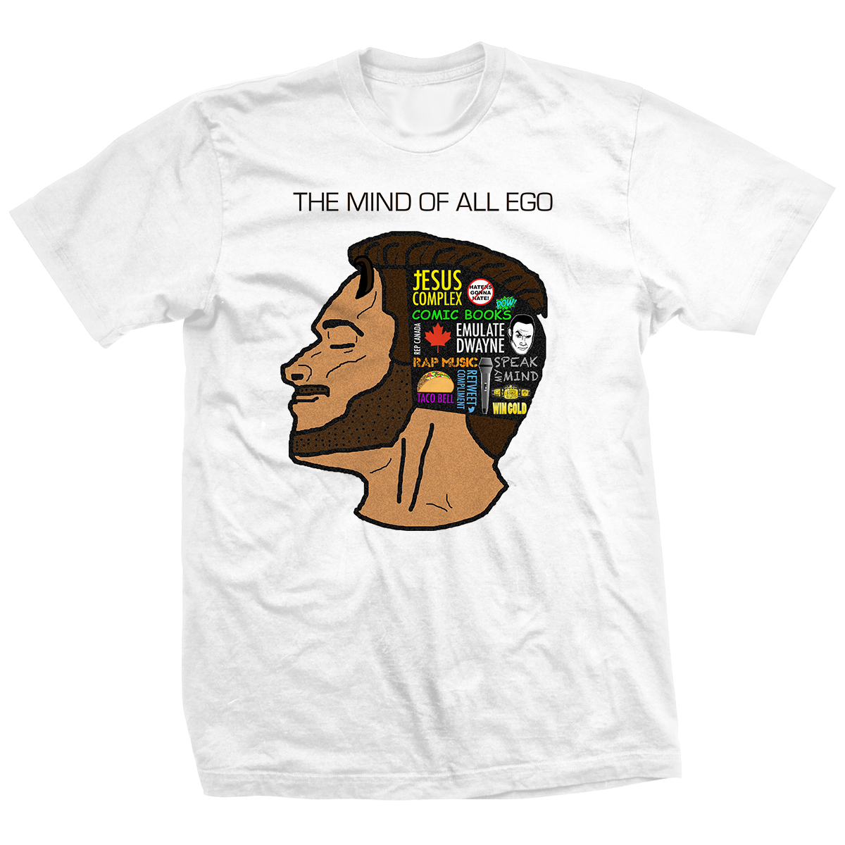 Ethan Page The Mind Of All Ego T-shirt