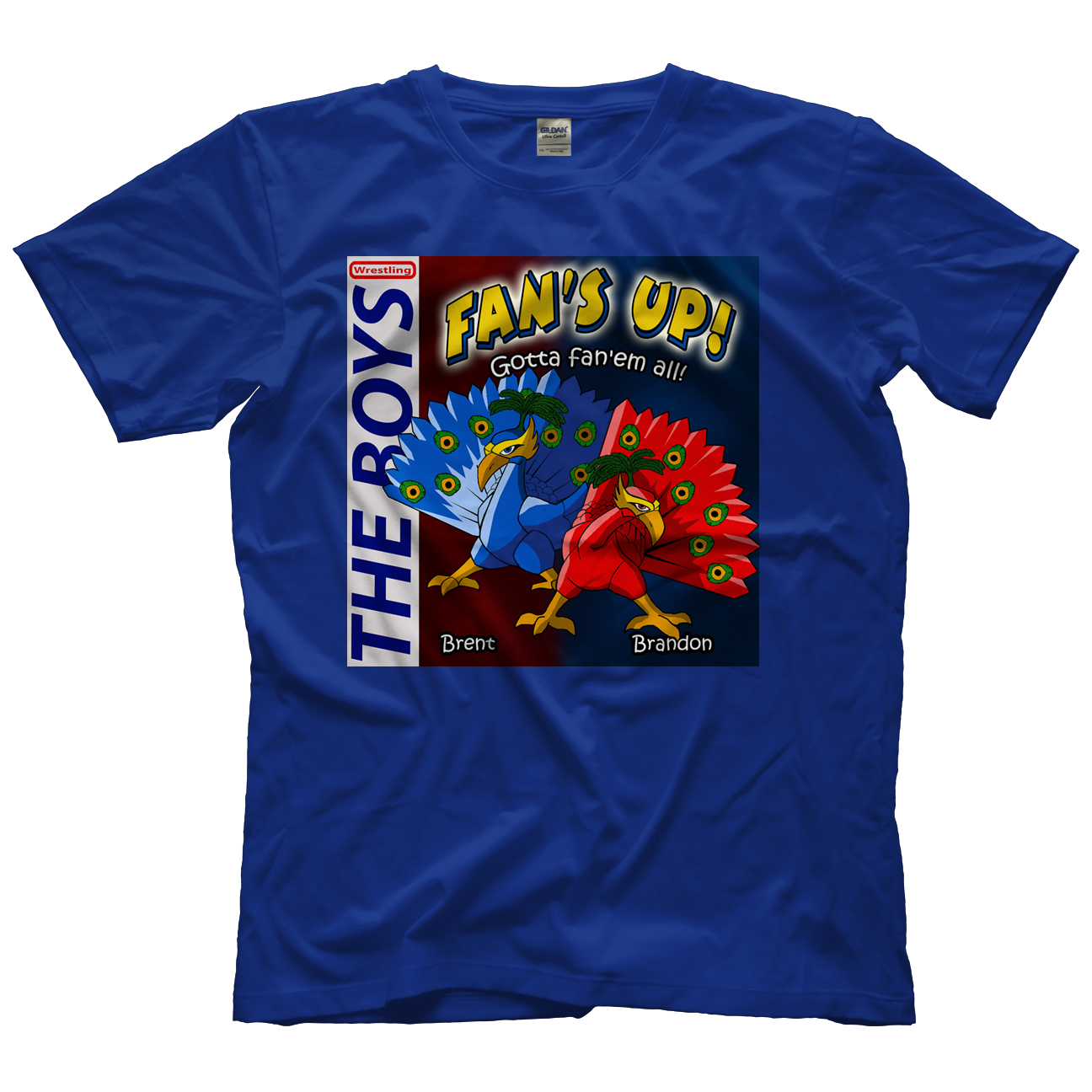 The Boys Fan Up Blue T-shirt