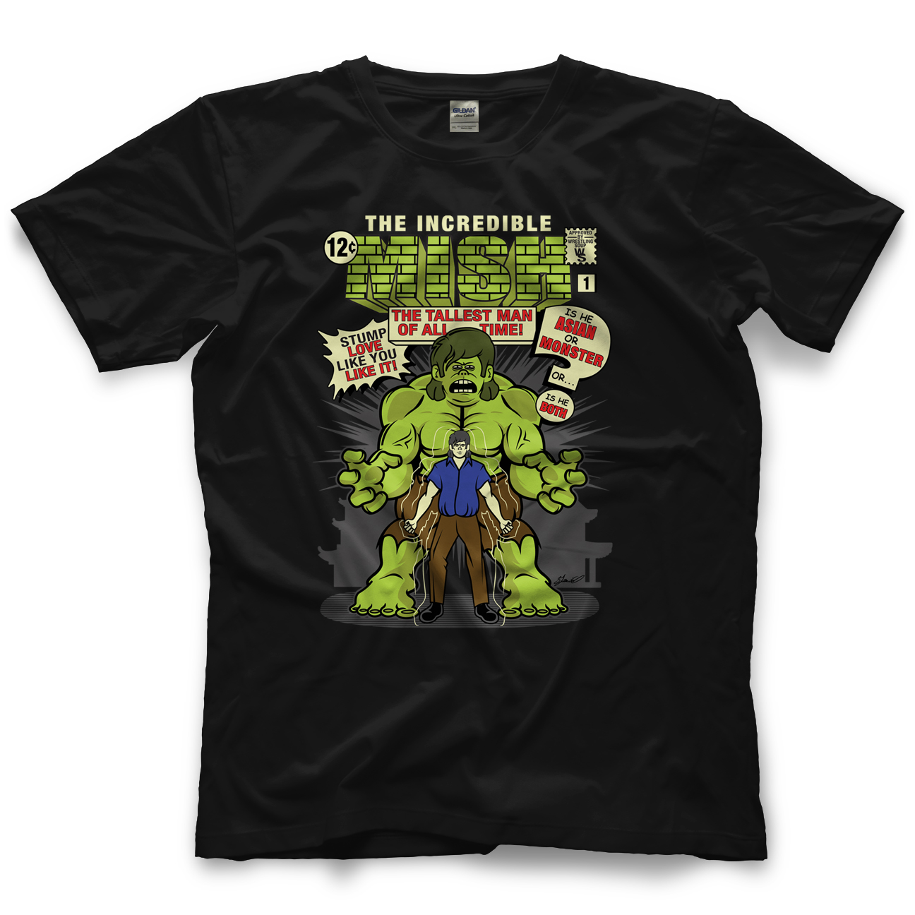 Wrestling Soup The Incredible Mish T-shirt