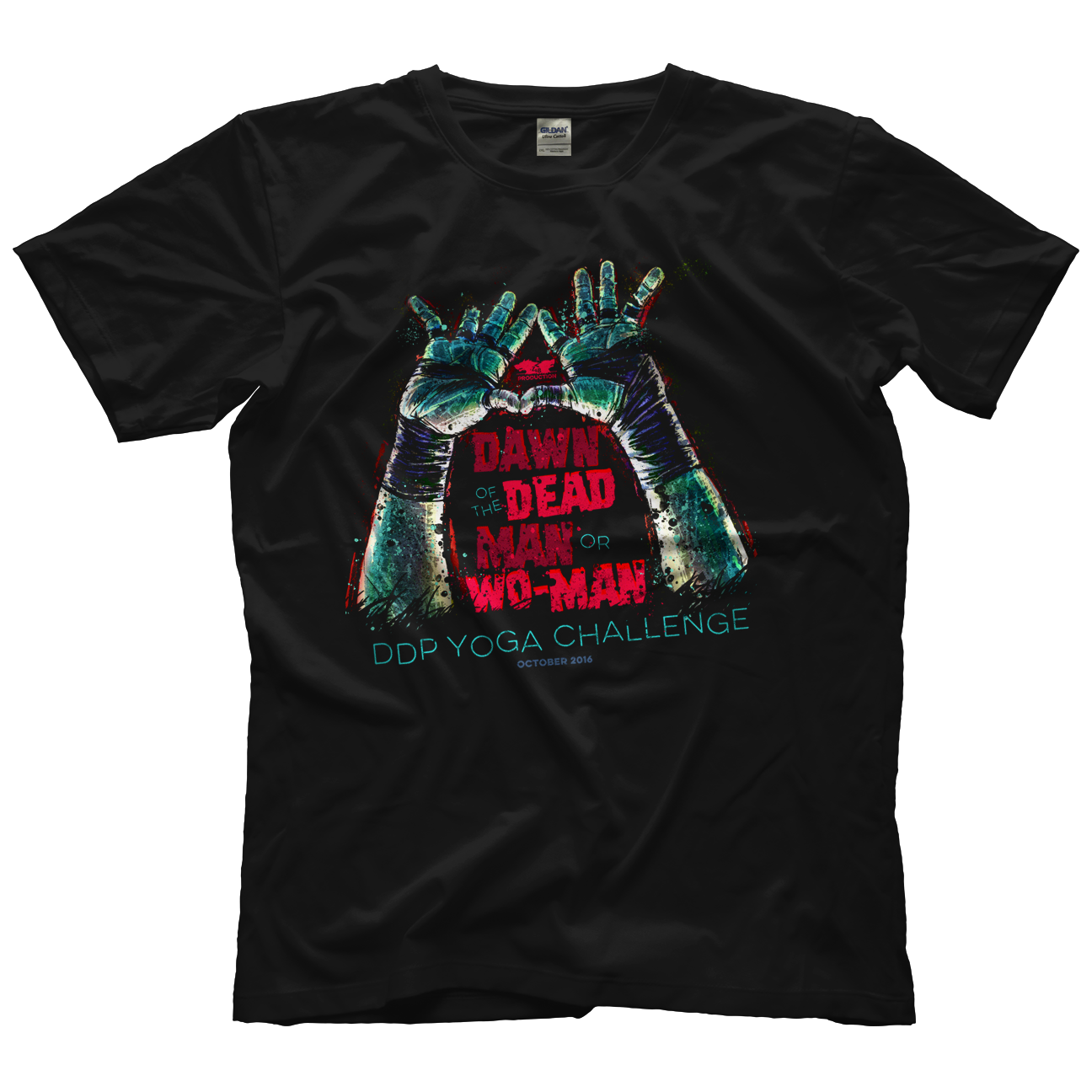 Zach Gowen Dawn of the Dead Man T-shirt