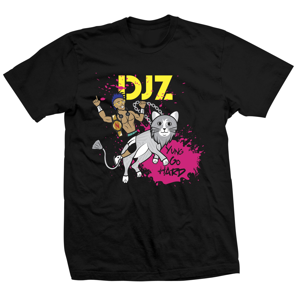 Zema Ion Cat DJ Tho T-shirt
